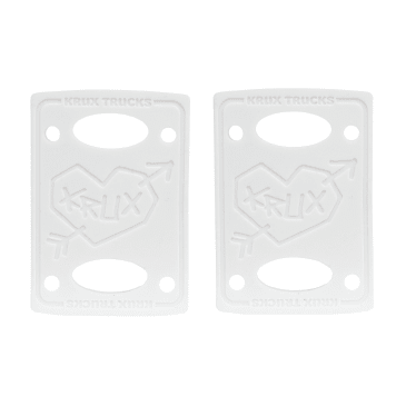 "Krux 1/8"" White Riser Pads"