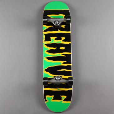 "Creature 'Logo Creep' 7.5"" Complete Skateboard (Black / Green)"