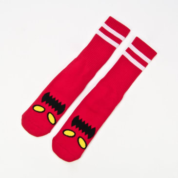 Toy Machine - Monster Face Socks - Red