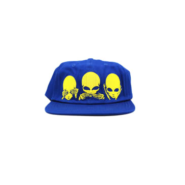 "CHINATOWN MARKET - ""NO EVIL 5 PANEL CAP"" (ROYAL)"