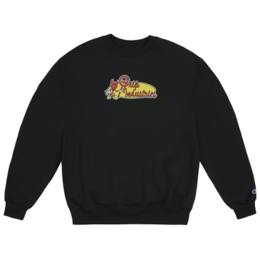 Classic Grip industries crew neck - Black