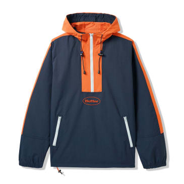 Butter Goods - Ripstop Jacket - Navy / Amber
