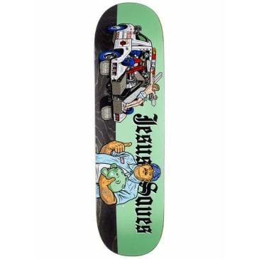 Strangelove Skateboards Jesus Saves Deck 8.5