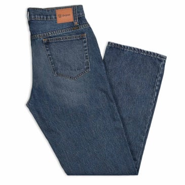 Brixton Labor Denim Jeans - Worn Indigo