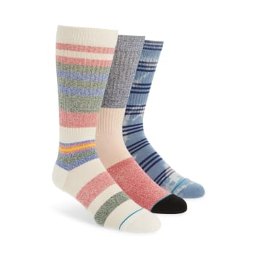 Stance Socks Men's Crew Munga 3 Pack Multi Large