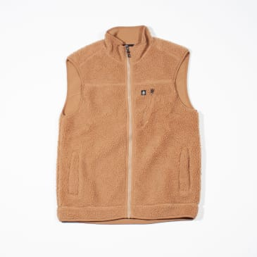 Volcom x Girl Skateboards Fleece Vest – Tobacco