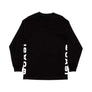 Quasi Corp Long Sleeve T-Shirt - Black