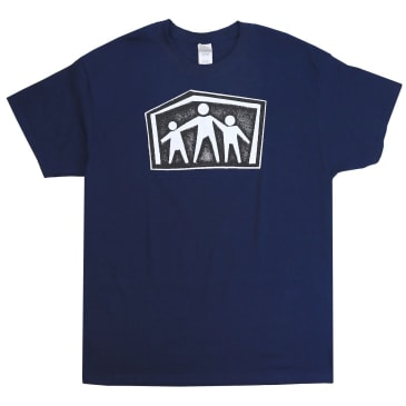 Quasi x Dear Skating Alien Workshop Shelter T-Shirt (Navy Blue)