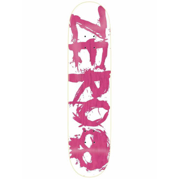Zero Blood Deck White/Pink - 8""