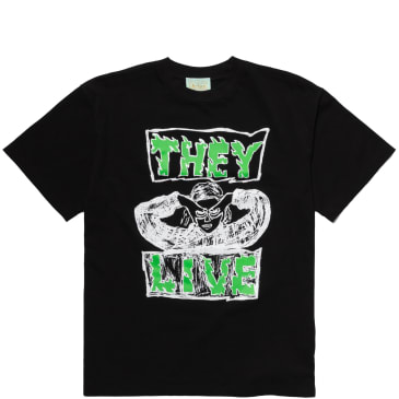 Aries They Live T-Shirt - Black