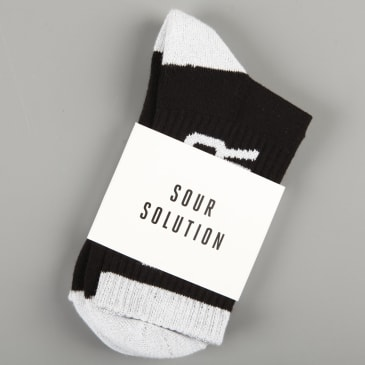 Sour 'Sour' Socks (Black)