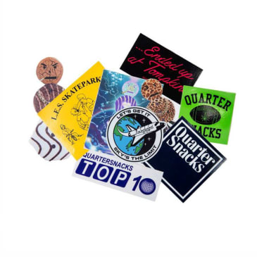 Quartersnacks sticker pack