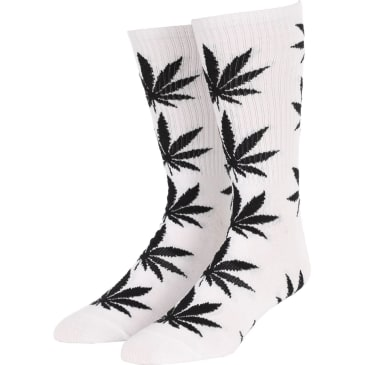 Huf Essentials Plantlife Socks (White)