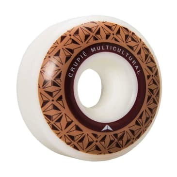 Crupié - Crupie Logo Brown Skateboard Wheels | 52mm