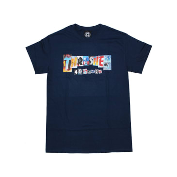 THRASHER 40 YEARS TEE - NAVY