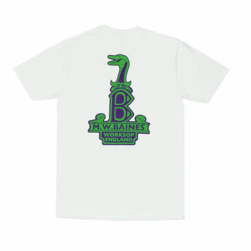 Lost Art Baines Raleigh-Gator T-Shirt - White