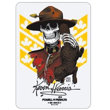 Powell Peralta Sticker Harris Mountie