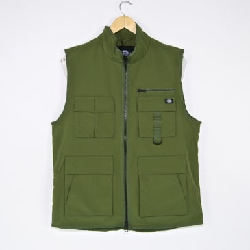 Dickies - Stillmore Vest Jacket - Army Green