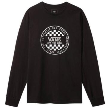 Vans - OG Checker L/S T-shirt - Black