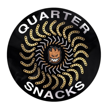 Spitfire Wheels - Quartersnacks Quarter Classic Sticker