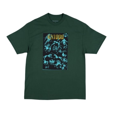 GX1000 Forced Entry T-Shirt - Forest Green