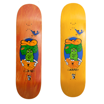 Carpet Company Willy Santos Guest Skateboard Deck - 8.25""
