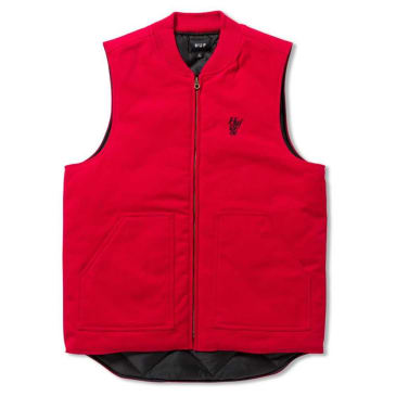 HUF KILO WHISKEY VEST - RED