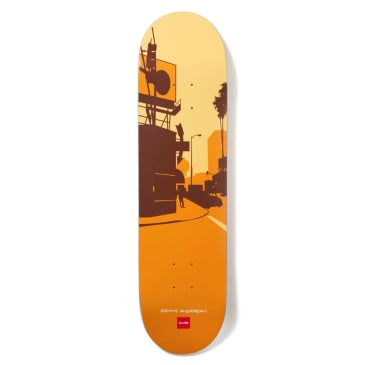 Chocolate Anderson Crail Classics City Skateboard Deck - 8.125""
