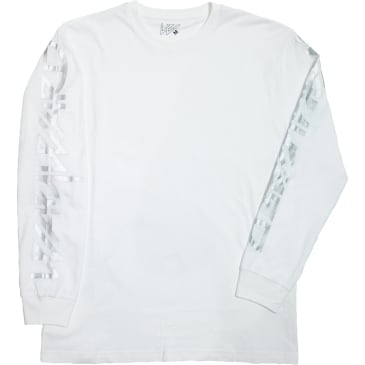 Wayward Skateboards Snipes Long Sleeve T-Shirt - White
