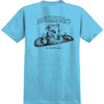 ANTIHERO Best Friend Tee Pacific Blue
