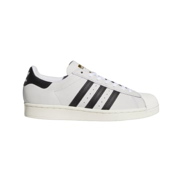 adidas Superstar ADV Skateboarding Shoes - FTWR White/Core Black/Gold Met