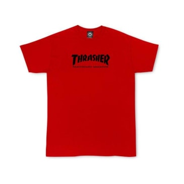 THRASHER Kid's Skate Mag Tee Red