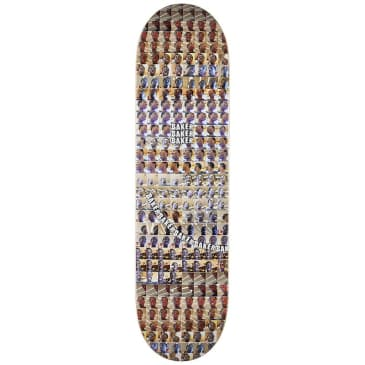 Baker Skateboards Kader Sylla Camera Roll Skateboard Deck - 8.25