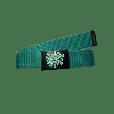 always do what you should do - green silk screen belt