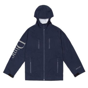 Dime Classic Logo Shell Jacket - Navy