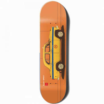 Chocolate World Taxi Raven Tershy Skateboard Deck - 8.5