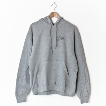 Alltimers Watercolour Logo Hood Grey