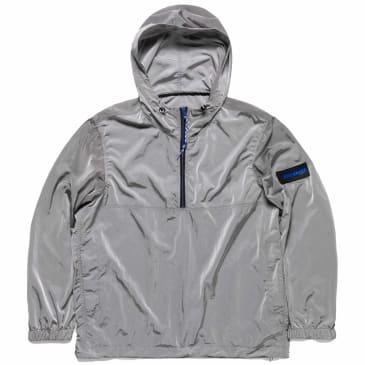 Aries Windcheater Half Zip Jacket - Grey