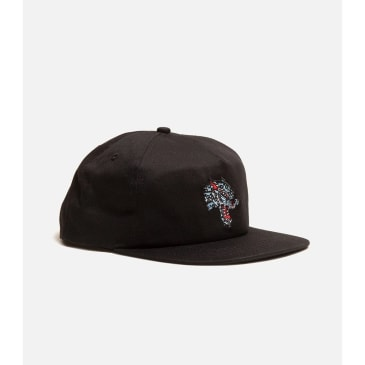 Thrasher - Leopard Mad Hat ADJ Black
