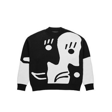 Polar Skate Co Alv Knit Sweater Black