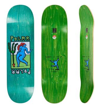 "Polar Skate Co. Cactus Dance Skateboard Deck - 8.75"""
