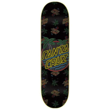 Santa Cruz Skateboards - Glow Dot Deck.