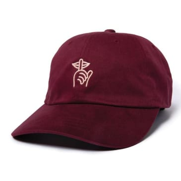 Quiet Life Shhh Dad Hat - Cardinal