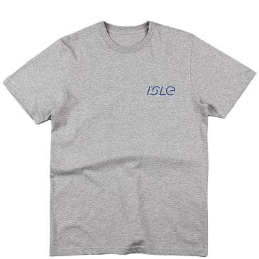 Isle Skateboards Liquid Eye T-Shirt - Heather Grey