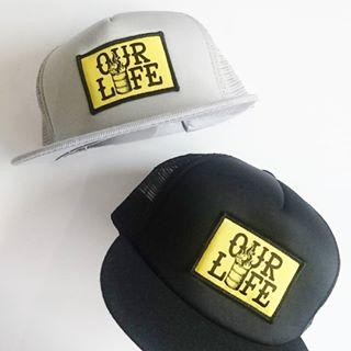 Our Life Mesh Hat/Grey