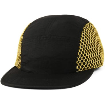 Butter Goods Mesh Camp Cap - Blk/Ylw
