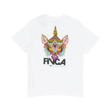 RVCA Screaming Bat T-Shirt - White