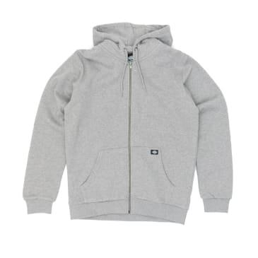 Dickies Kingsley Zip Hooded Sweatshirt - Grey Melange