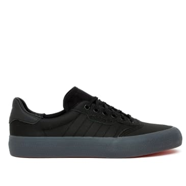 Adidas 3MC Vulc Skate Shoes - Core Black / Core Black / Core Black
