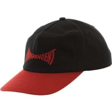 Independent - Breakneck Hat ADJ Cardinal/Black